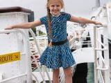 Dress Ivy Blue Grey