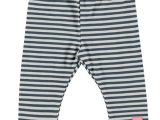 Baby Girls legging y/d stripe blue stripe
