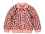 35C-34270 Baby cardigan Light coral + aop