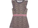 JURK / TUNIEK GS20DR003 Pink leopard pattern