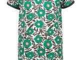 MT SS sweater AOP flower Green