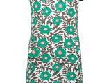 MT dress AOP flower Green