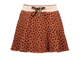 NuaB Sweat skirt AOP cheeta Cognac