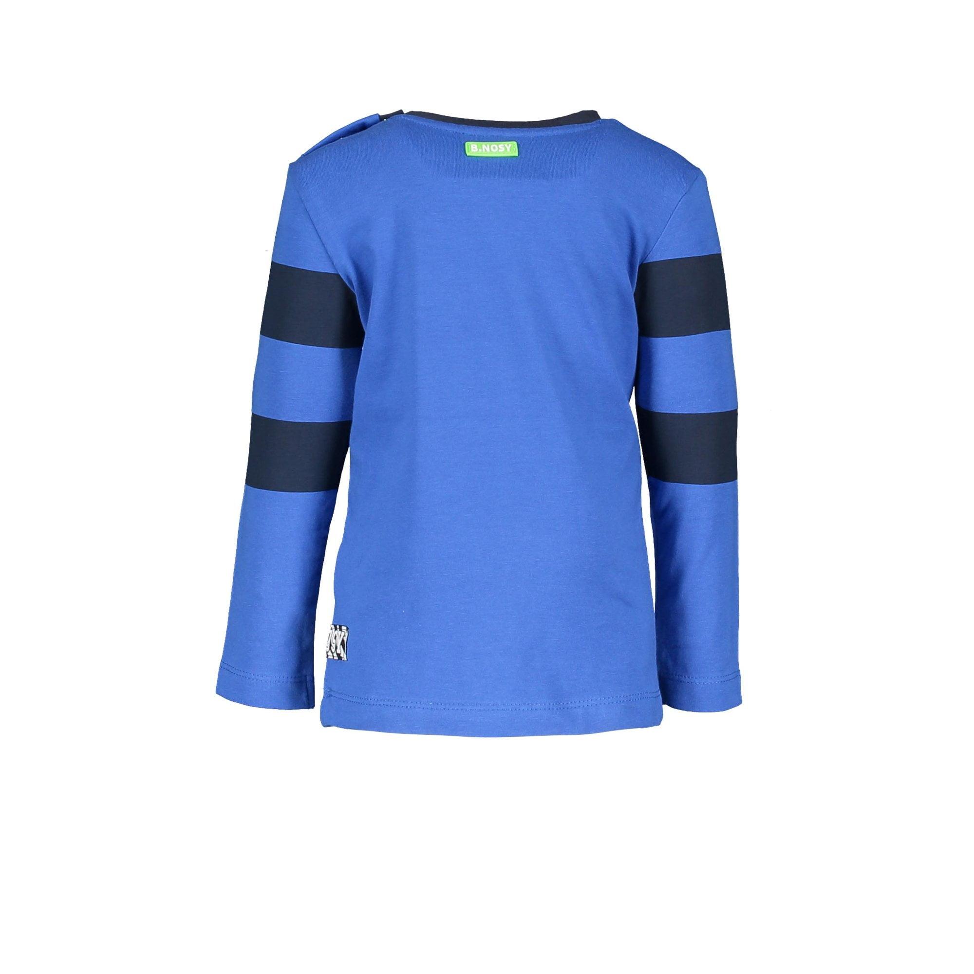 Y008-8431_194 T-shirts Baby Nautical blue
