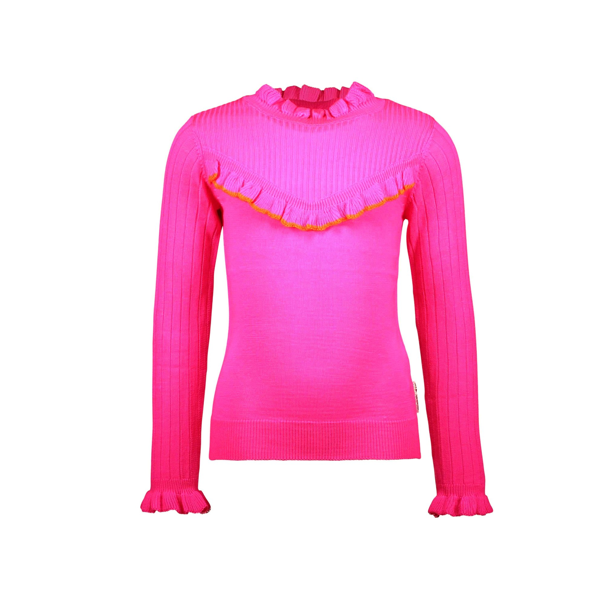 Y008-5332_275 Sweater Pink glo