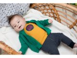A008-8650_195 Trousers Baby stripe navy