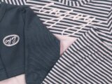 D36204-31 3 pce Babysuit dress  Pink + dark grey