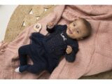 D36260-31 2 pce Babysuit dress Navy