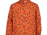 KM6647 blouse dot roest