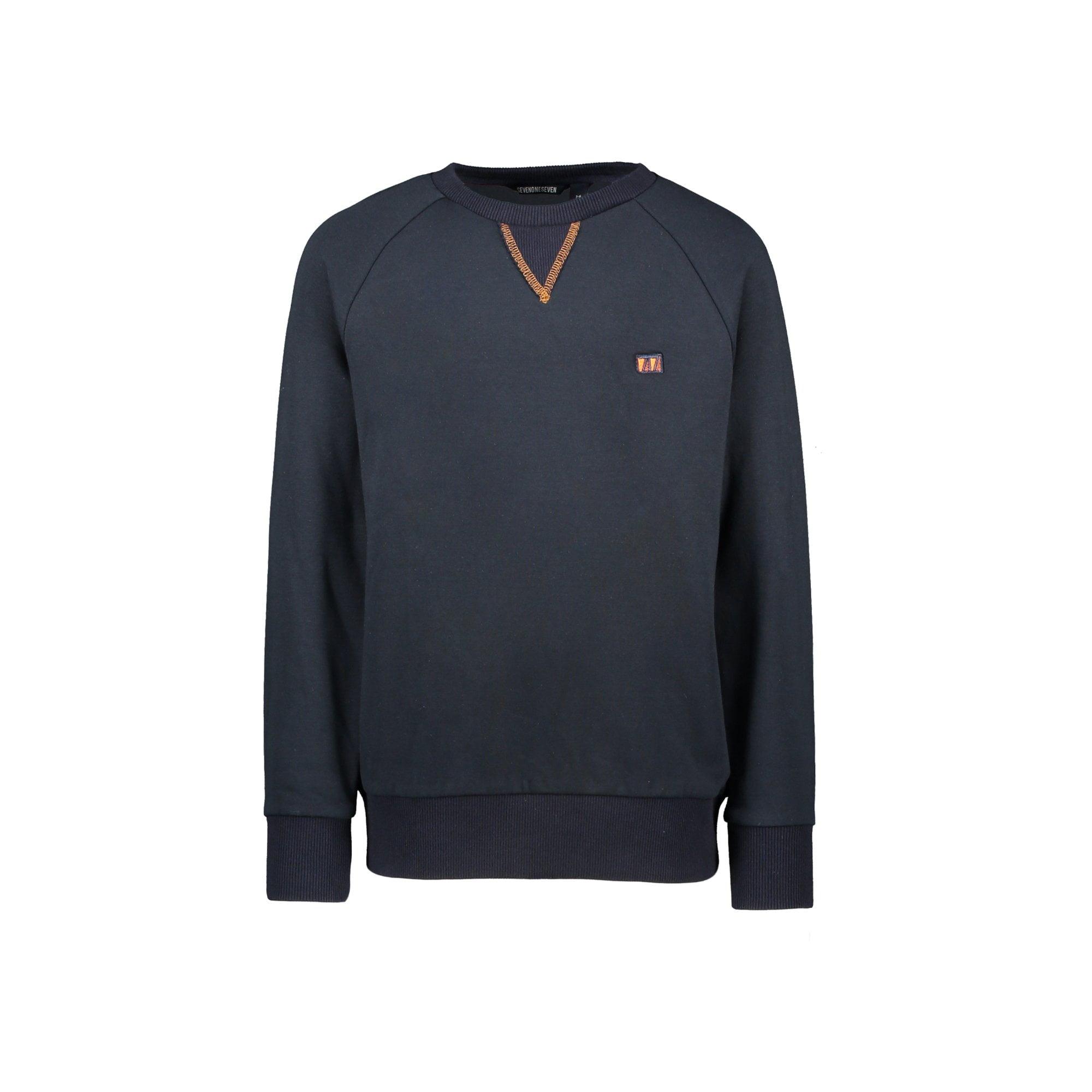 Stanley raglan contrast sleeves sweater