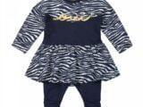 Girls 2 pce babysuit ls dress
